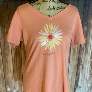 NWOT Life is Good Women's Large T-shirt